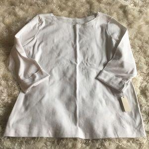 NWT 3/4 sleeve top
